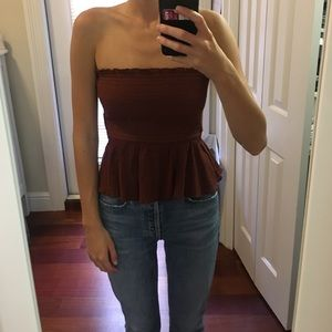 Strapless Bow Top from Free People